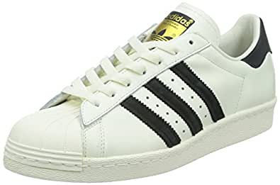 White Adidas Superstar 80s Deluxe (B25963) 47 1/3 -