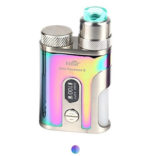 Eleaf iStick Pico Squeeze 2 電子タバコ VAPE ベイプ 100W Mod Kit + AVB 21700 電池付き セット イーリーフ アイスティック ピコ 高性能 コンパクト 禁煙 全5色 (カラフル)