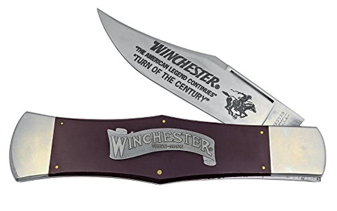 努力する先今までウィンチェスター WINCHESTER  W21 1920-D/BU ビッグウィンチェスター ラージディスプレーナイフ ハンドル:29cm バーガンディマイカルタ