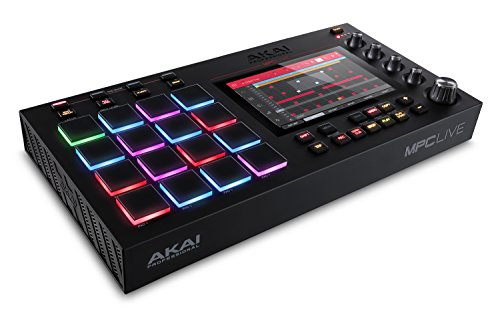 AKAI Professional スタンドアローン音楽制作システム・7インチ高解像度マルチタッチディスプレイ MPC Live