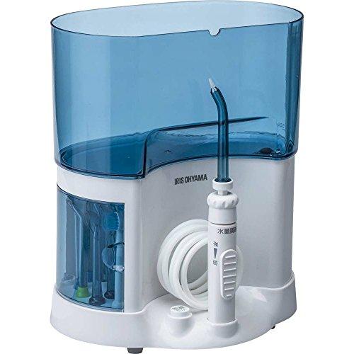 アイリスオーヤマ口腔洗浄器 ブルー PMW-6216D-A(D) 歯磨き 口内洗浄 高圧 水圧 洗浄機 マウス クリーナー(7114238) アイリスオーヤマ