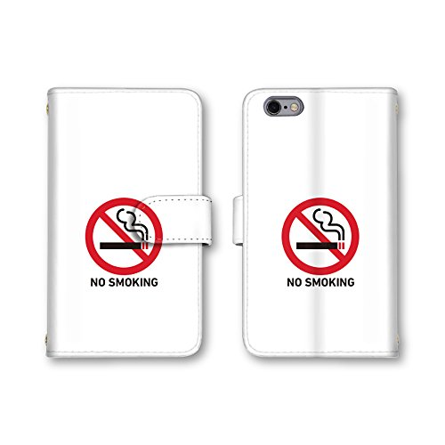 Apple iPhone 8 Plus iPhone 8 Plus ケース 手帳型ケース 【禁煙者専用】 (1...