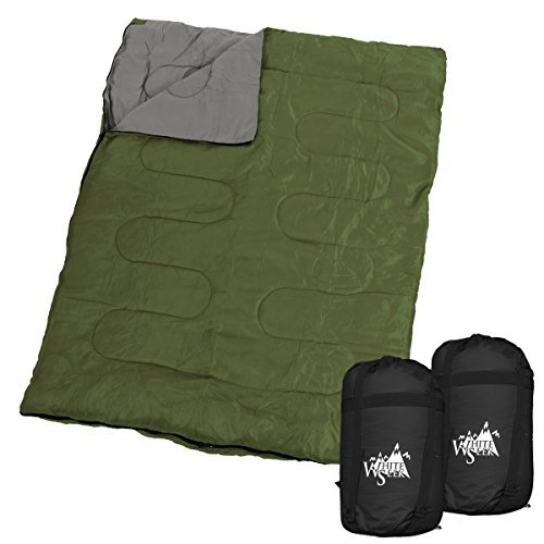 [해외]WhiteSeek 투 담당자 침낭 슈라 봉투 형 최저 사용 온도 0 ℃/WhiteSeek Two person sleeping bag Shruff envelope type minimum use temperature 0 ℃