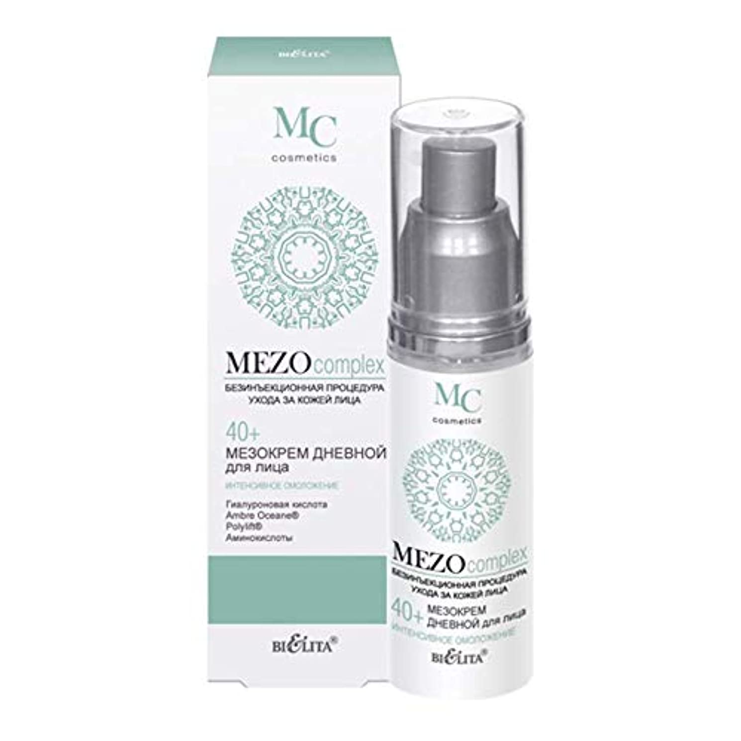 健康的不忠パースMezo CREAM daytime face | 40+ | 50 ml