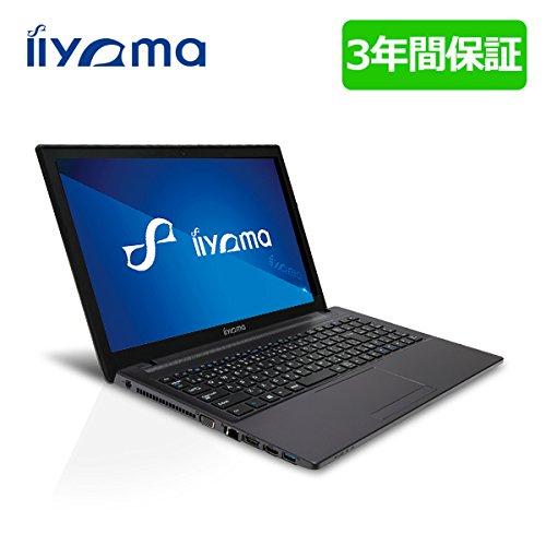 iiyama 3年保証付 15H7100-i7-LSM [Windows 7 Pro搭載](15.6型 フルHD液晶/Core i7-4710MQ/1TB/8GB/DVD/GeForce GT 850M)ノートパソコン