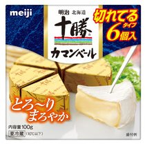 明治北海道十勝カマンベールチーズ切れてるタイプ 100g [要冷蔵]ナチュラ...