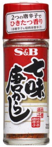 S&B 七味唐からし 15g×10個