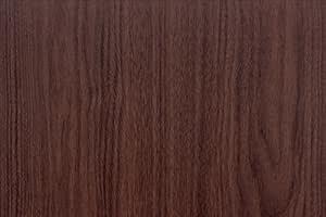 Magicfix 壁紙シール 木目 50cm×1m ヘラ付き はがせる壁紙 シールタイプ 木目調 木目柄 (1m, DW-33)
