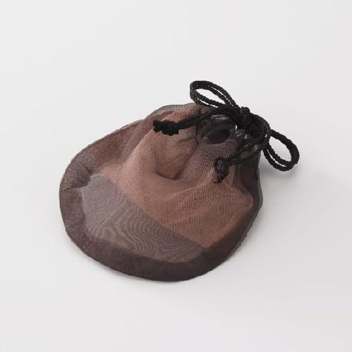 コック雰囲気ピギーバックス ソープネット 瞬時にマシュマロのようなお肌に負担をかけないキメ細かな泡をつくることができるオシャレなポーチ型オリジナル【泡だてネット】!衛生的に固形石鹸の保存もできます。
