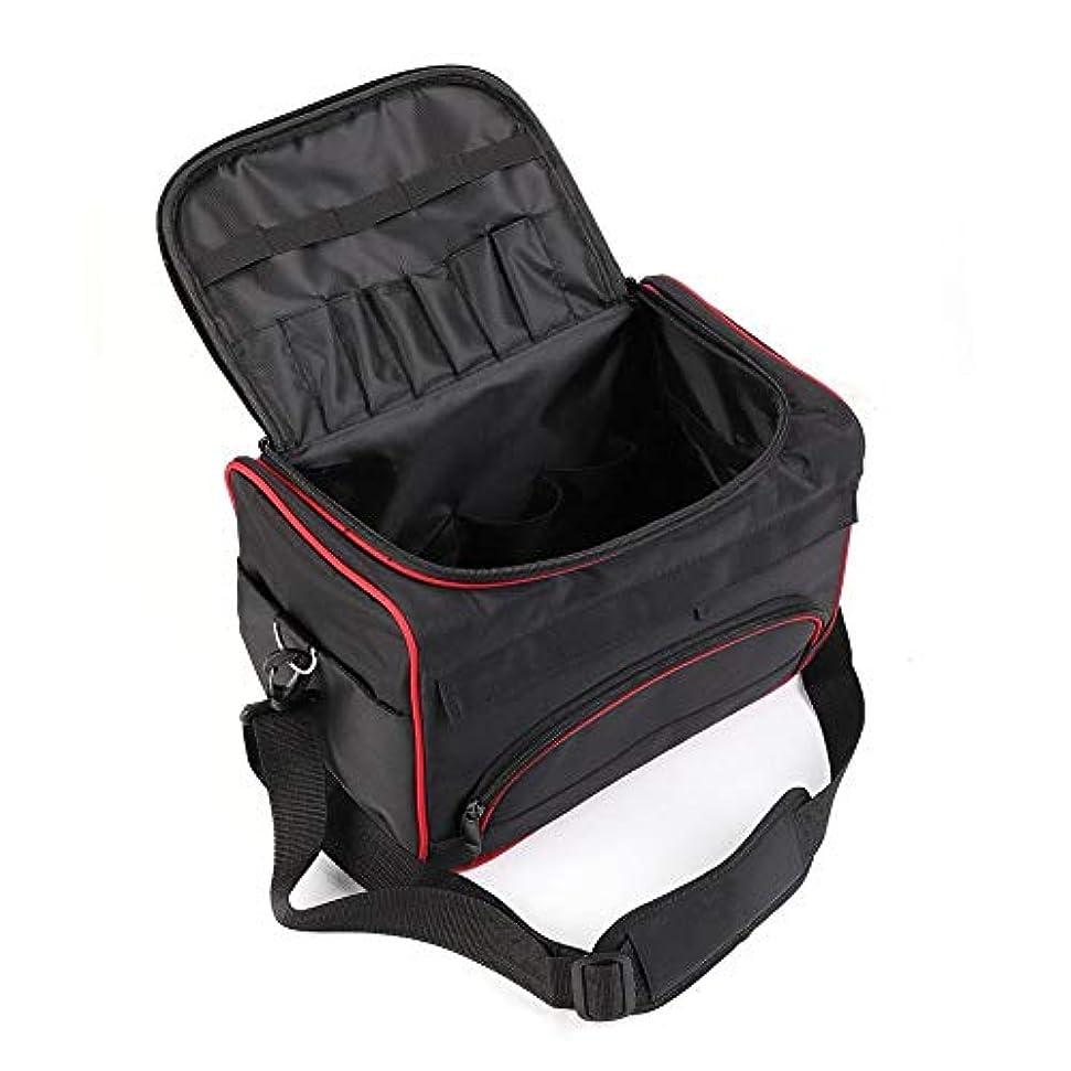 利得励起発行美容ツールバッグ ハンドバッグ 大型 美容サロン ポータブル バッグ ヘアスタイルケース くし/ドライヤー/かつら 旅行用