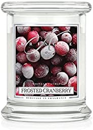 Kringle Frosted Cranberry Jar Candles, Medium, 411g