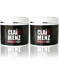 ブラジリアンワックス メンズ専用 clair Menz wax 500g (単品2個セット) メンズ脱毛専用ラベル 無添加ワックス 脱毛