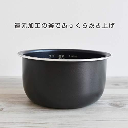 タイガー魔法瓶『マイコン炊飯ジャー<炊きたて>tacook3合(JAJ-A552)』