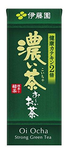 おーいお茶 濃い茶 紙パック 250mlx24本
