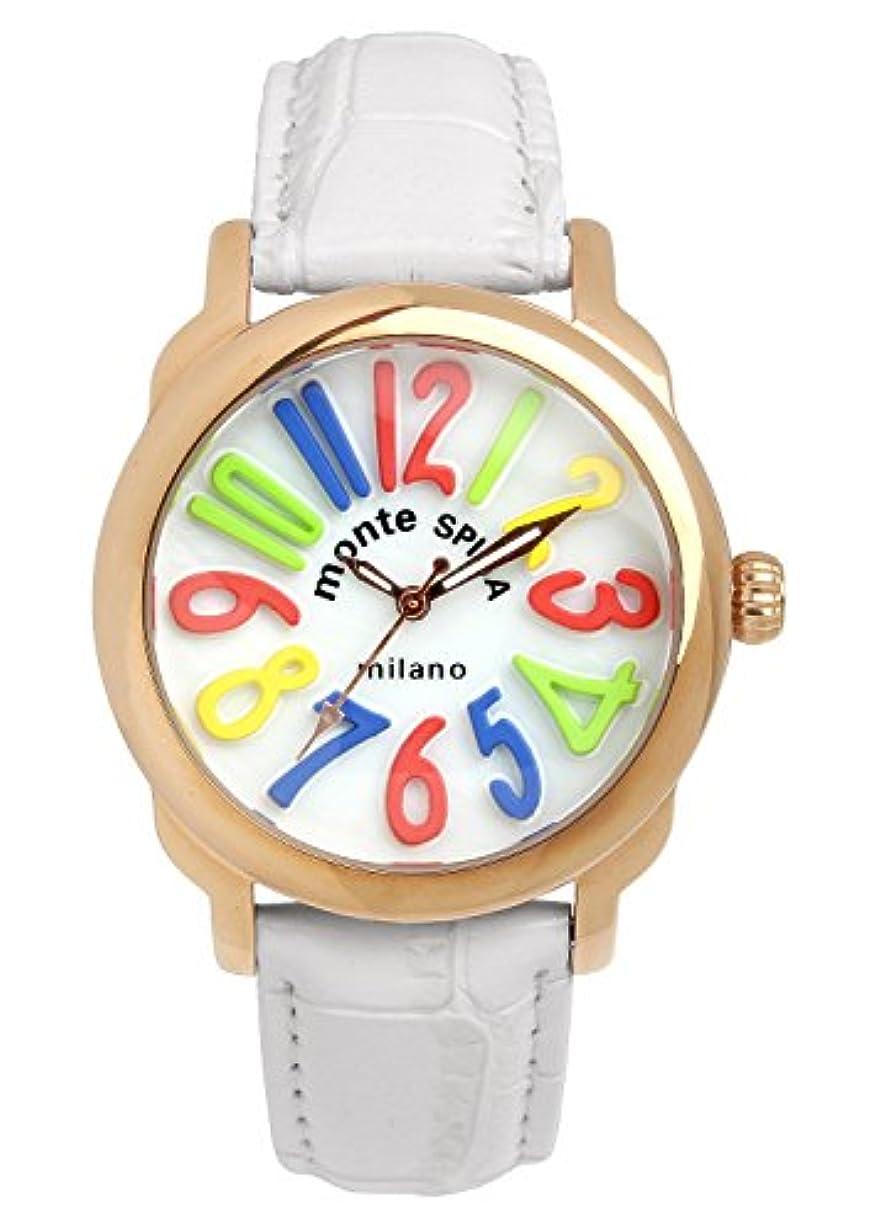 堤防傾いた抹消[モンテスピガ]monte SPIGA 腕時計 ウォッチ ファッション カラフル レディース [並行輸入品]