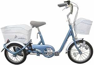 ミムゴ 16インチロータイプ三輪自転車 スイングチャーリー(ブルー) MG-TRE16SW-BL