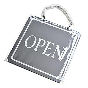 タカ印 看板 営業表示板 OPEN/CLOSED アクリル樹脂 37-6100