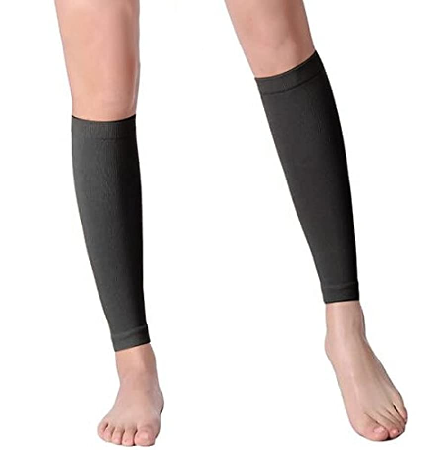 無限葡萄野心【エコノミー症候群予防】男性用 着圧ソックス ショート (XL, ブラック)