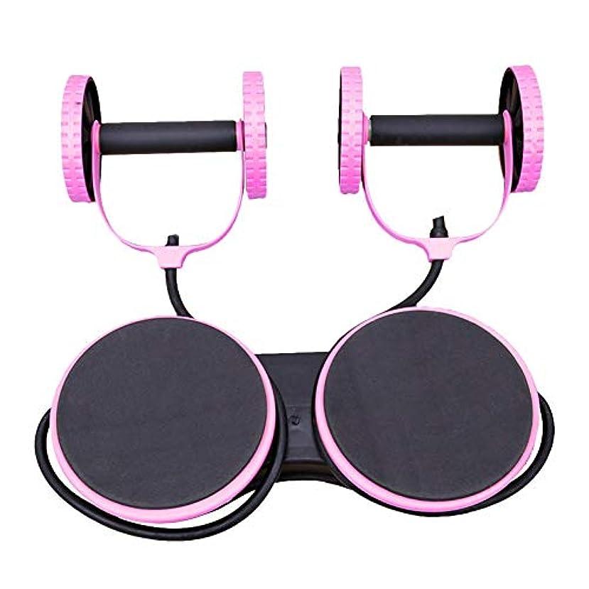 愛人効能十分ですMultifunctional Fitness Roller Wheel Equipment, Abdominal Muscles Arm Training Equipment for Man Women