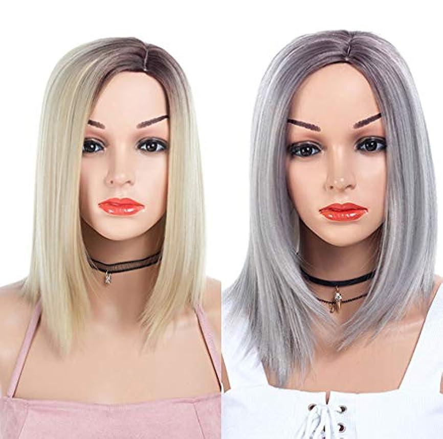 シーボードチーフ粘着性コスプレウィッグ15インチの女性150%密度の長い耐熱マイクロ巻き毛