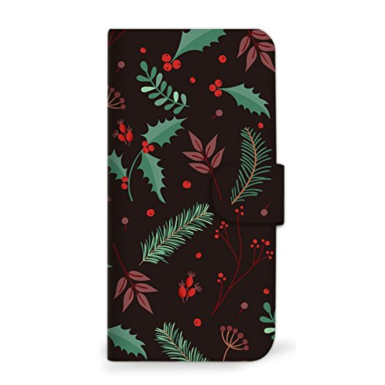 柔らかさ届ける甘味mitas Galaxy S8 Plus SC-03J ケース 手帳型  クリスマス 冬 B (342) SC-0336-B/SC-03J