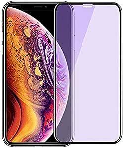 iPhoneXS MAX ガラスフィルム Amorno 強化ガラス 全面保護 液晶保護フィルム 0.3mm 超薄型 日本製素材旭硝子製【最高硬度9H /3D Touch対応/指紋防止/飛散防止/透過率99%/ 気泡ゼロ/貼付け簡単】(アイフォン iPhoneXS MAX用)