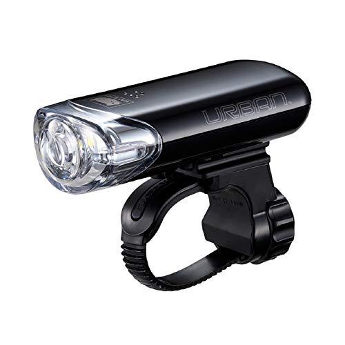 キャットアイ(CAT EYE) 自転車用LEDヘッドライト URBAN(アーバン) HL-EL145 JIS規格 BAA適合 単三形乾電池使用 800カンデラの前照灯