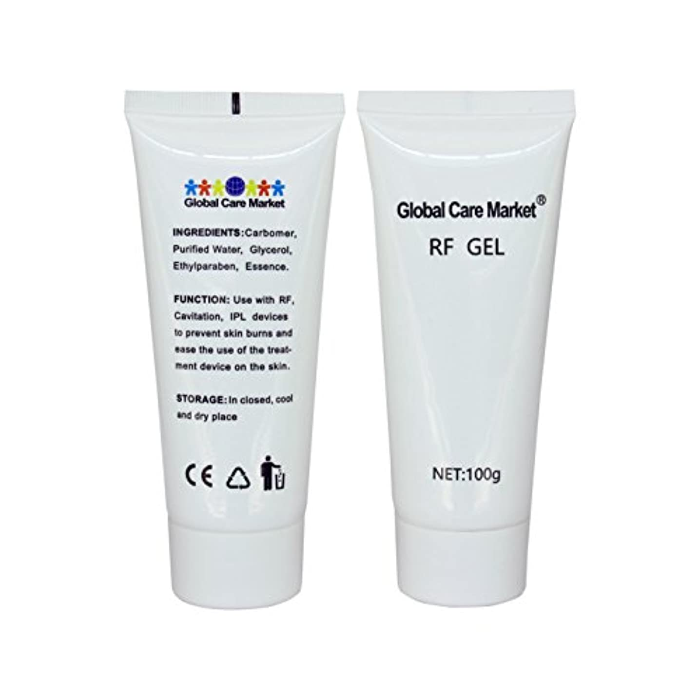 事業大事にする単位RF GEL(2 Pack) - 高周波治療装置に使用する皮膚冷却および潤滑です