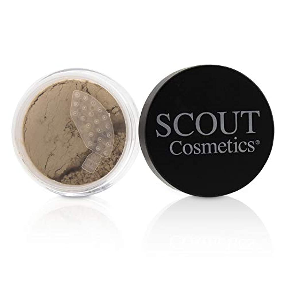 SCOUT Cosmetics Mineral Powder Foundation SPF 20 - # Porcelain 8g/0.28oz並行輸入品