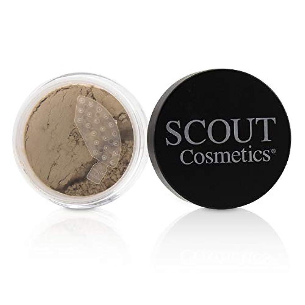違う燃料人生を作るSCOUT Cosmetics Mineral Powder Foundation SPF 20 - # Porcelain 8g/0.28oz並行輸入品