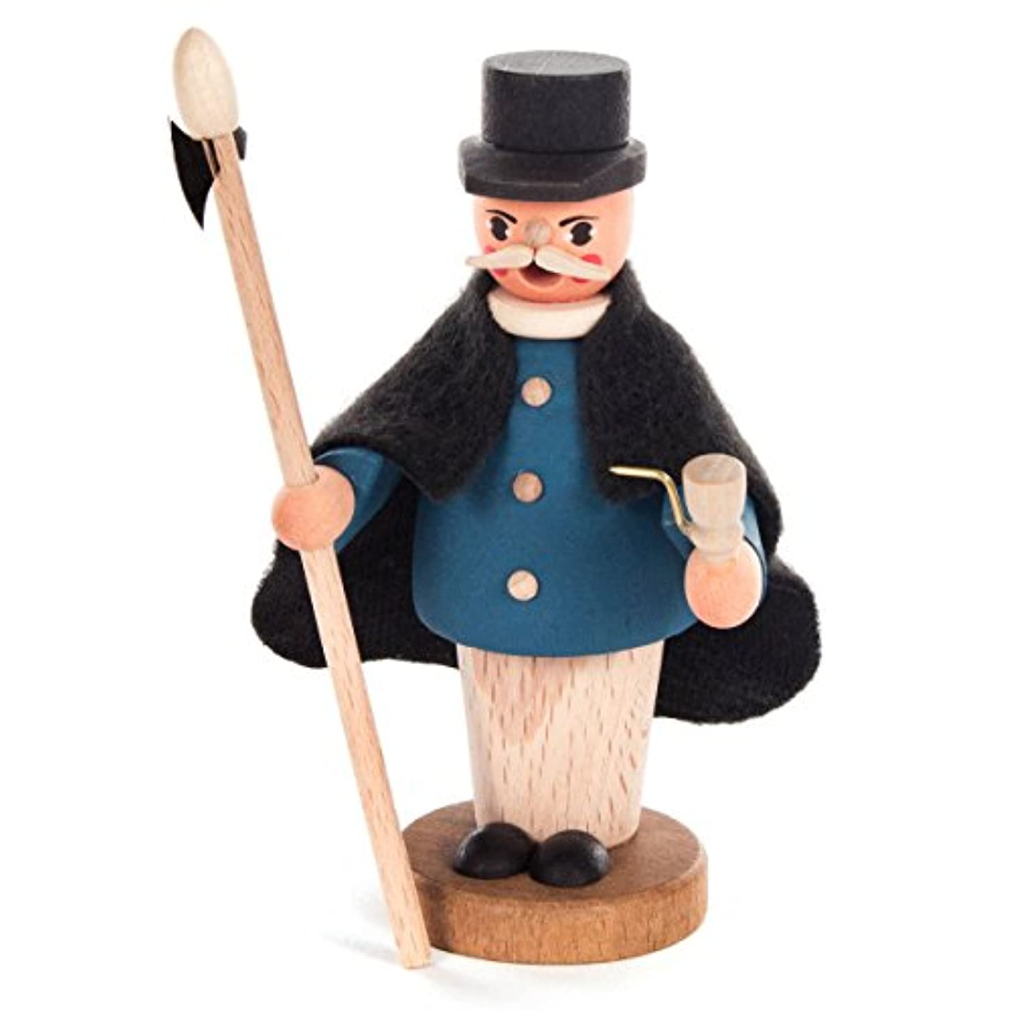 魅惑的な編集するジュラシックパークMini Small Nightwatchman Incense Burner – 4 1 / 2インチTall – Made in Germany