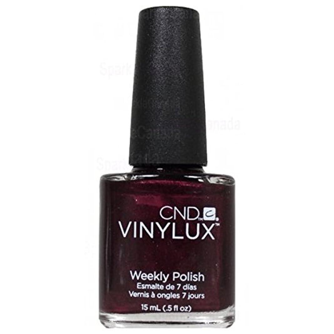 わかるまつげ弁護士CND Vinylux Manicure Lacquer _ Dark Lava  # 110_15ml (0.5oz)
