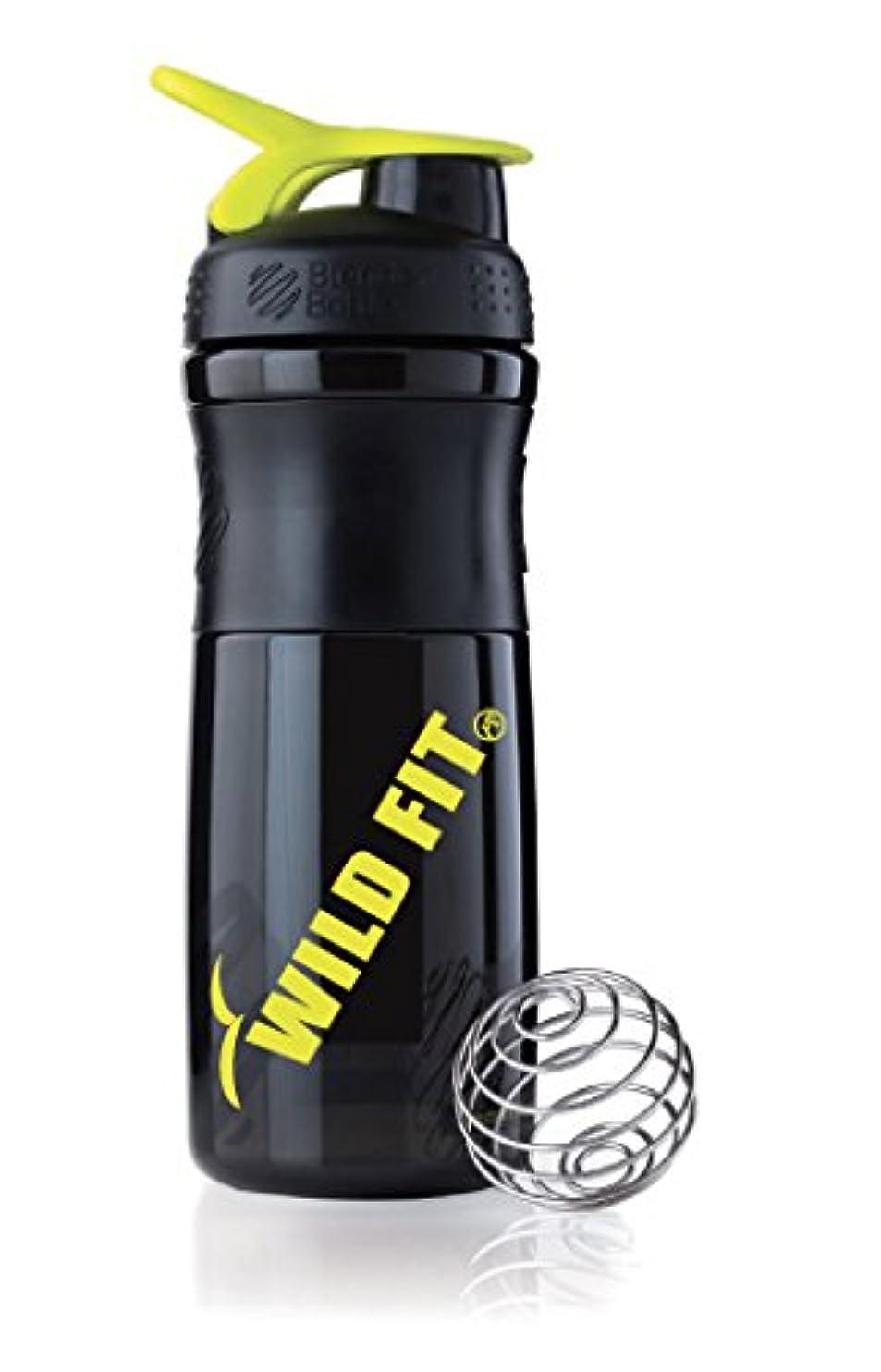降雨ビクターサバントオリジナル シェイカー プロテイン ボトル [μ-up(ミューアップ)シリーズ][WILD FIT ワイルドフィット]