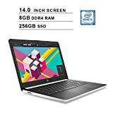 2020 HP Pavilion Newest 14 Inch Laptop, 10th Gen Intel 4-Core i5-1035G1 up to 3.6GHz, Intel UHD Graphics, 8GB DDR4 RAM, 256GB SSD, Webcam, HDMI, WiFi, Bluetooth, Windows 10 Home, Silver