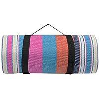 Doublesail レジャーシート ピクニックマット 軽量 厚手 折りたたみ 6人~8人用 防水 洗える テントシート ハンドキャリー(5色)