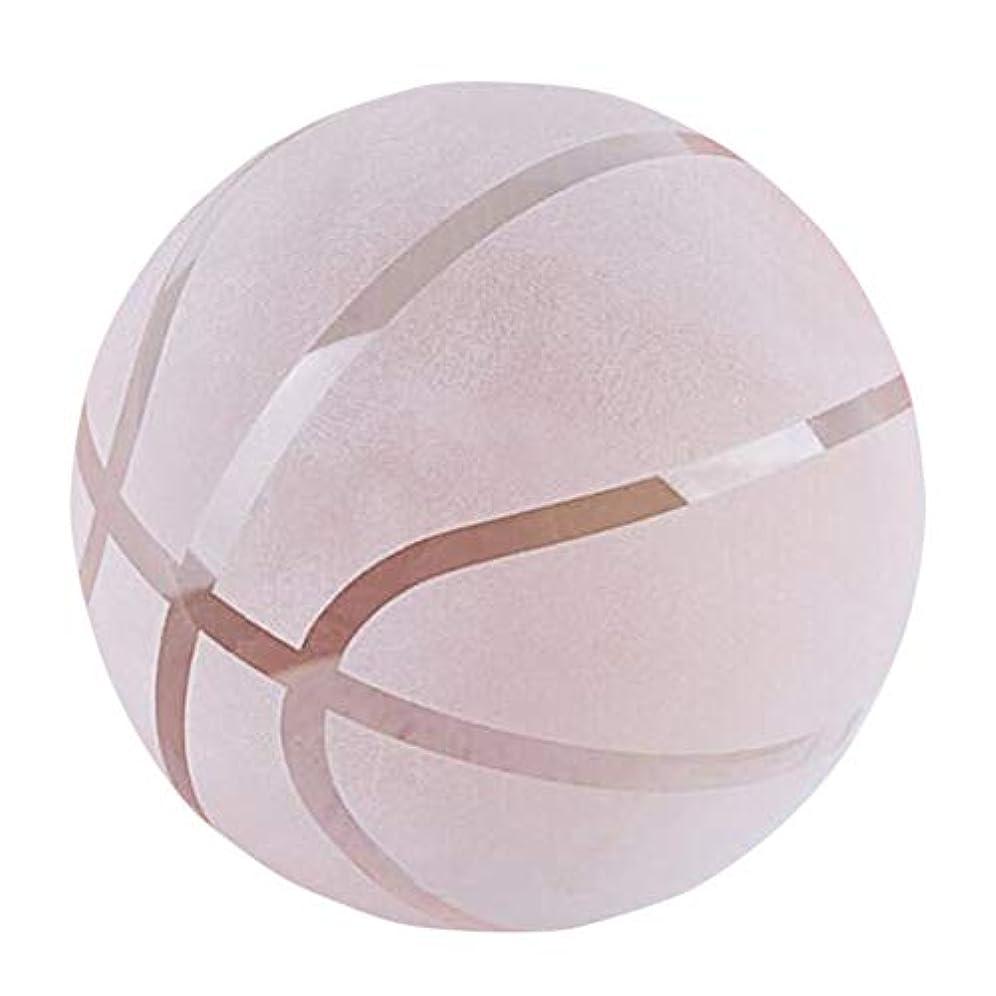 反響する庭園不良品(イスイ)YISHUI 水晶 バスケットボール 60mm 80mm 文鎮3D ペーパーウェイト プレゼント 置物 k9クリスタル HP0721 (80mm)