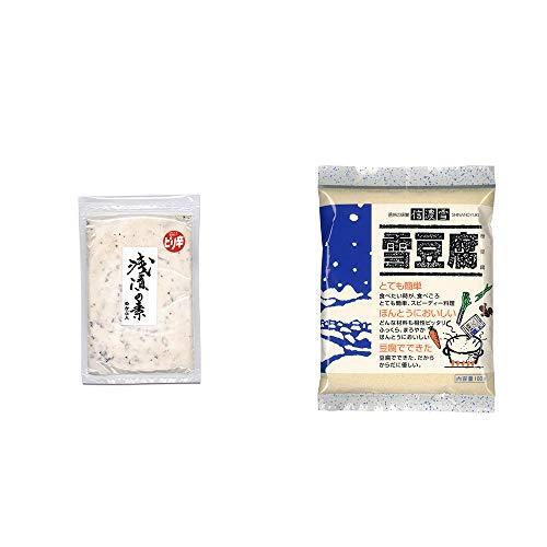 [2点セット] 浅漬けの素[小](150g)・信濃雪 雪豆腐(粉豆腐)(100g)
