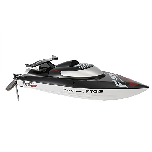 GoolRC オリジナル Feilun FT012 2.4G ブラシレス45km/h 高速 RCレース ボートプロポ付き 水冷自動復原 システム