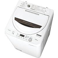 シャープ SHARP 全自動洗濯機 ステンレス槽 5.5kg ブラウン系 ES-GE5B-T