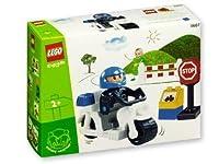 LEGO Duplo 3607 白バイ・ポリス Police Action レゴ デュプロ