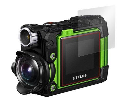 指紋が目立たない 反射防止液晶保護フィルム 2枚入り STYLUS TG-Tracker 用 OverLay Plus OLTGTRACKER/12/2