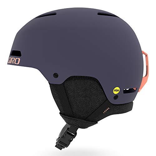GIRO(ジロ) スキー ヘルメット Ledge MIPS(レッジ ミップス) マットミッドナイト ピーチ Mサイズ 7093903
