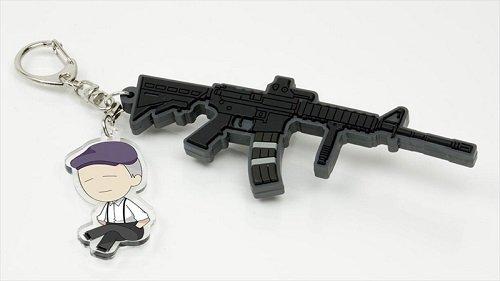 亜人 T.W.B. 佐藤&M4 キーホルダー
