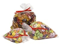 100Polytheneプラスチック食品使用バッグ4x 6100mm x 150mm byバッグIt Plastics