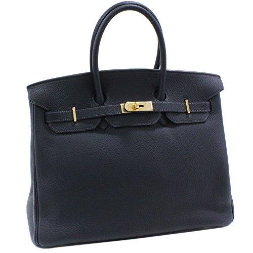 (エルメス)HERMES ハンドバッグ バーキン35 トゴ ブルーオーシャン ゴールド金具