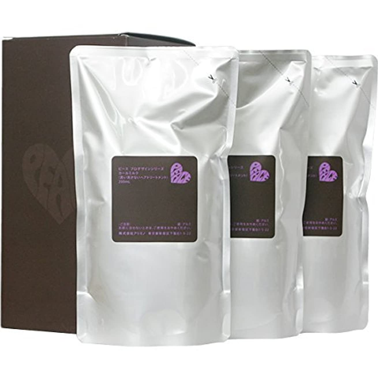 ジレンマ洞察力拒否ピース プロデザインシリーズ カールミルク チョコ リフィル 200ml×3