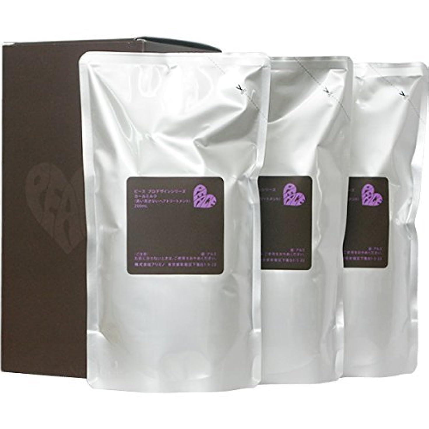 メインかすれた医薬ピース プロデザインシリーズ カールミルク チョコ リフィル 200ml×3