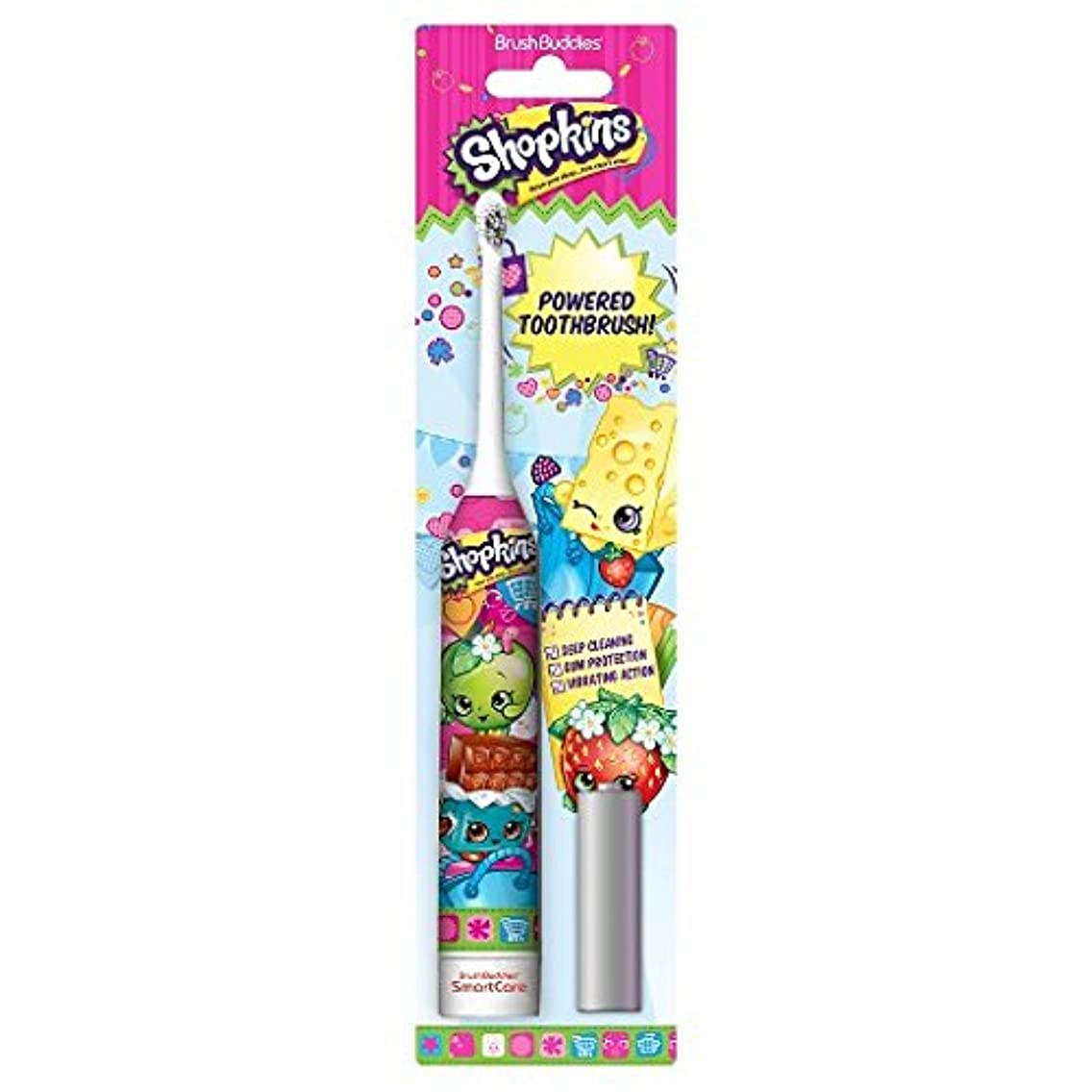 ペデスタル密輸前Brush Buddies Shopkins Sonic Powered Toothbrush ソニックパワード電動歯ブラシ [並行輸入品]