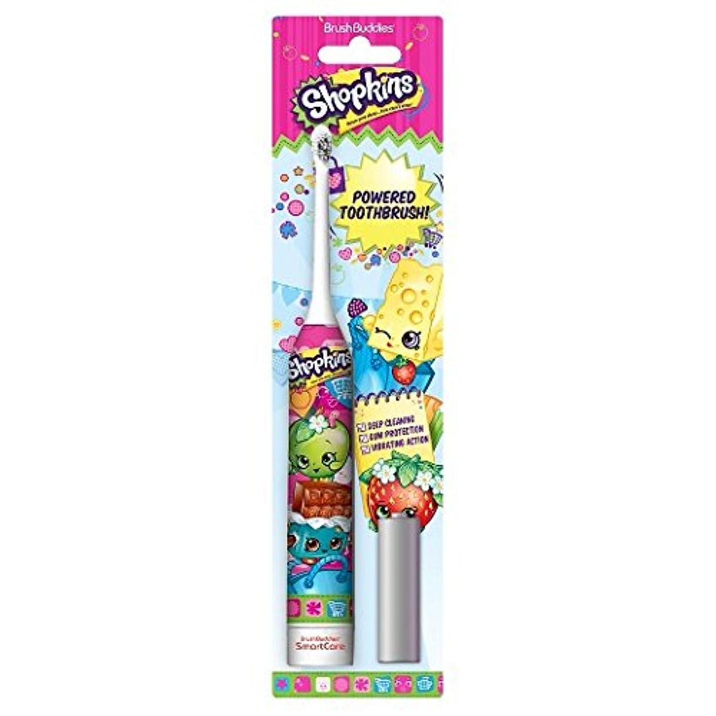 単に強風範囲Brush Buddies Shopkins Sonic Powered Toothbrush ソニックパワード電動歯ブラシ [並行輸入品]