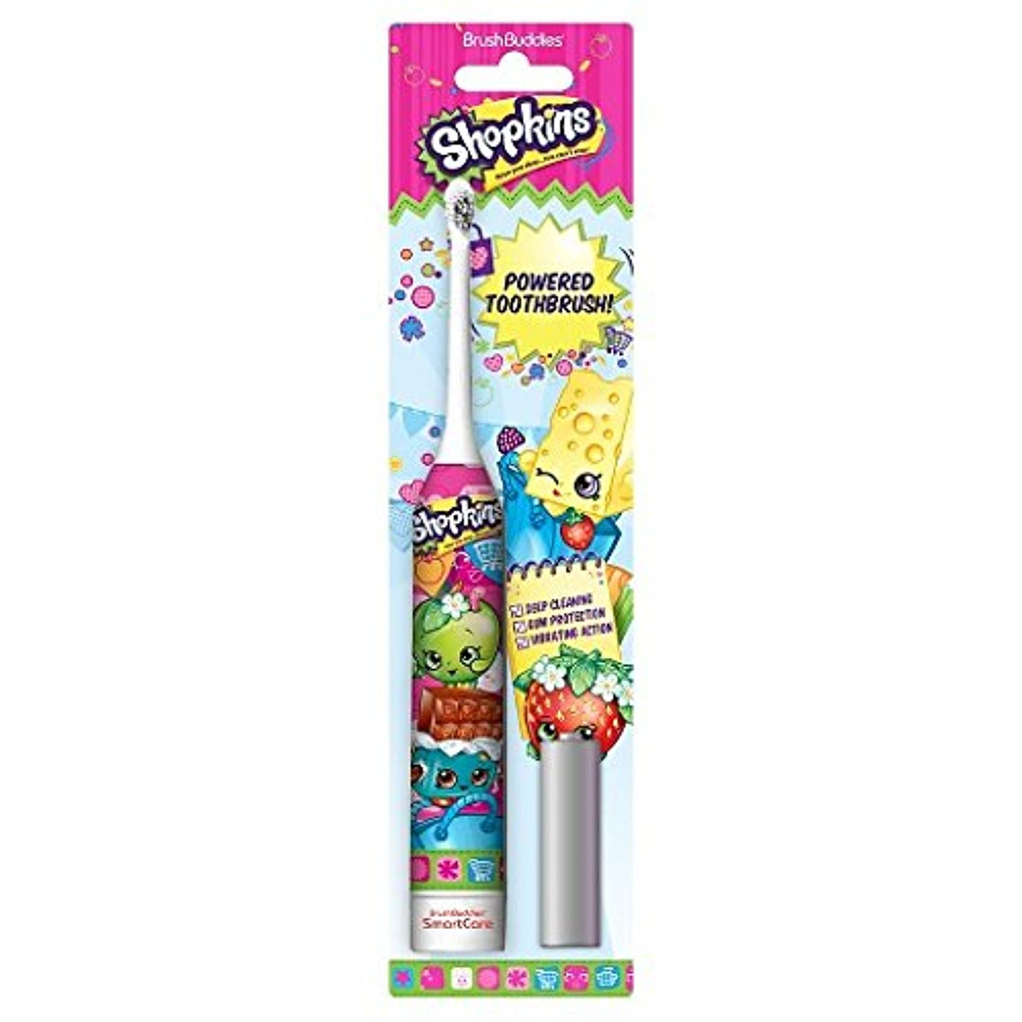 階下ブレスサバントBrush Buddies Shopkins Sonic Powered Toothbrush ソニックパワード電動歯ブラシ [並行輸入品]
